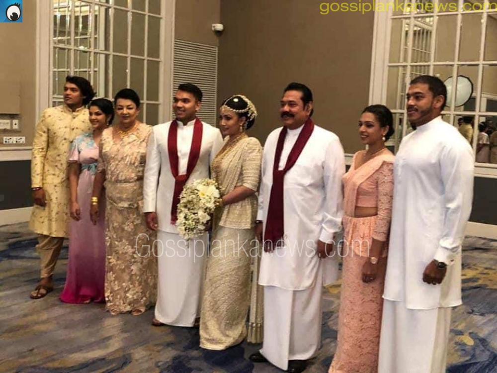 Namal Rajapaksa Wedding – Gossip Lanka Photo Gallery